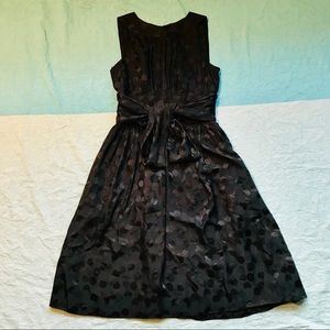 Maggy London NWT Silk A Line Bow Tie Circle Dress